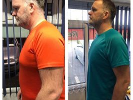 Man weight loss transformation Clonmel