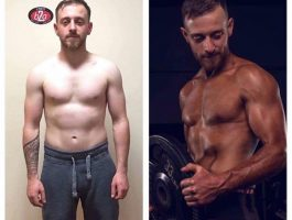 Man weight loss transformation Mallow