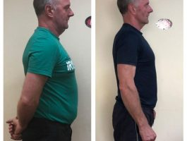 Man weight loss transformation Mitchelstown
