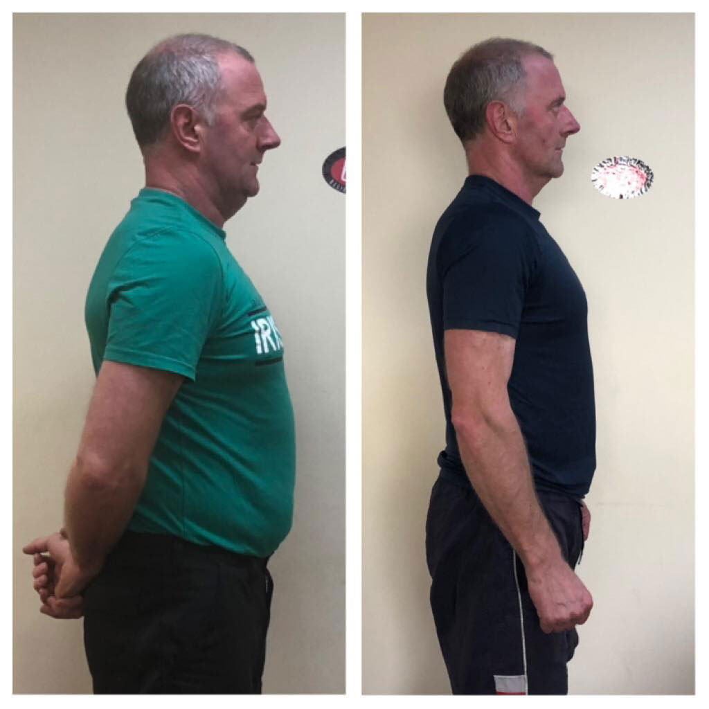 man weight loss mitchelstown