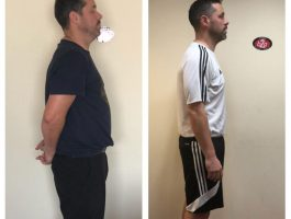 Man weight loss transformation Cork