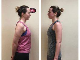 Woman weight loss transformation Mitchelstown