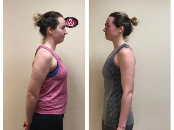 Woman weight loss transformation Mitchelstown