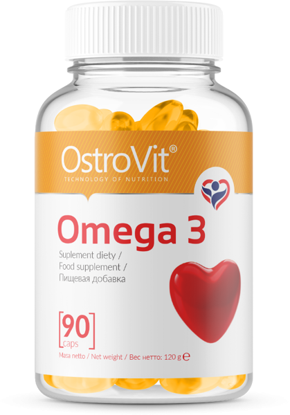 OstroVit Omega 3 – 90 caps